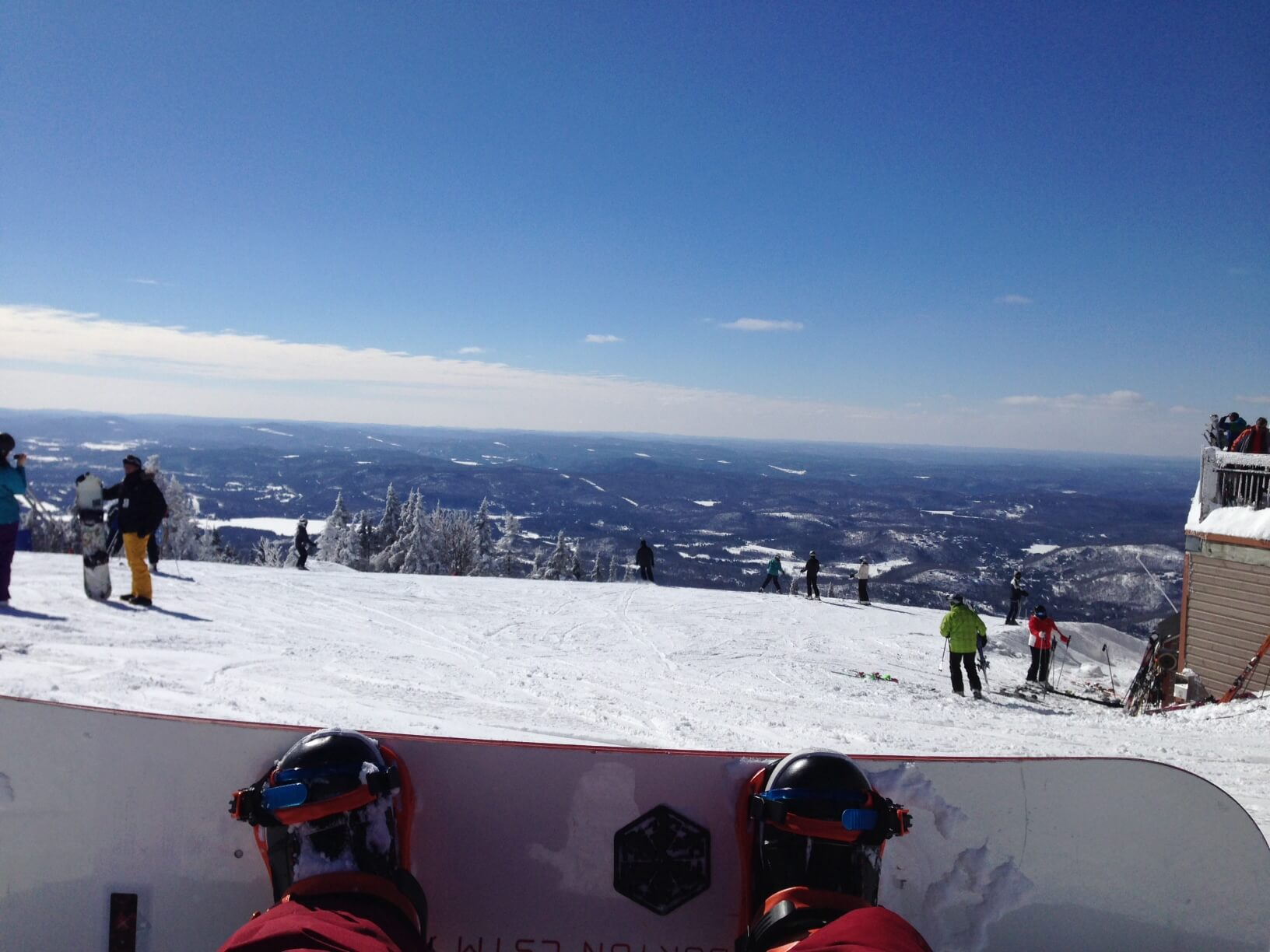Mont Tremblant Quebec Snowboard Ski