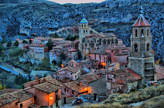 Albarracín Aragon Spain