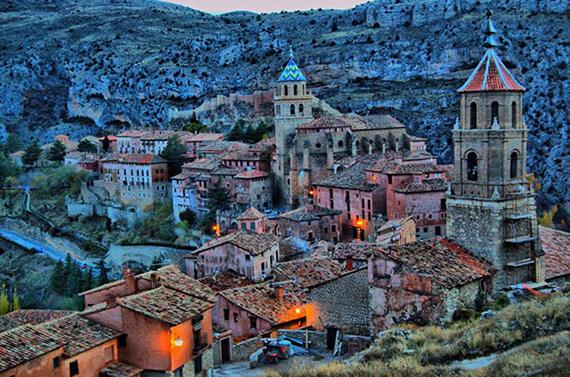 Albarracín Aragon Spain