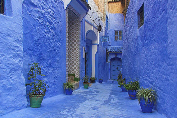 Chefchaouen Northwest Morocco