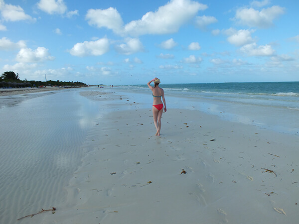 White Sand Beach Cuba Melia Cayo Coco