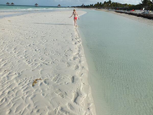 Cuba Melia Cayo Coco Footprints in Sand