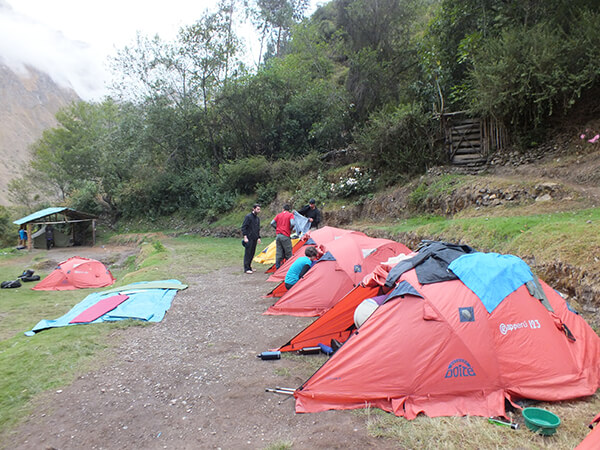 Inca Trail Machu Picchu G Adventures Review Tent Picture