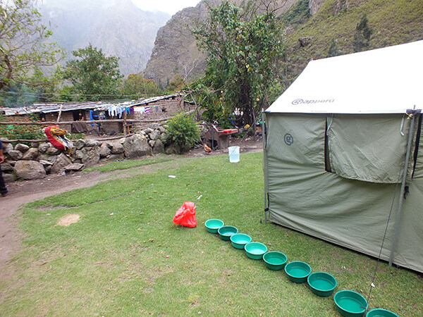 Inca Trail Machu Picchu G Adventures Review Tents Food