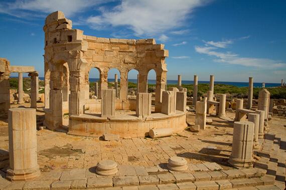 Leptis Magna Tripoli Libya