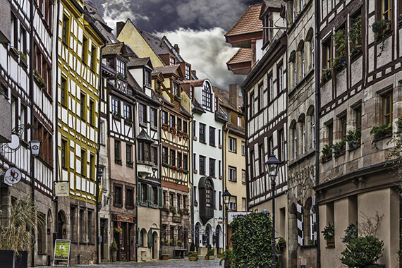 WeiBgerbergasse, Nuremberg, Germany