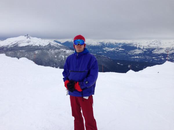 Whistler Four Seasons Snowboarding Peak