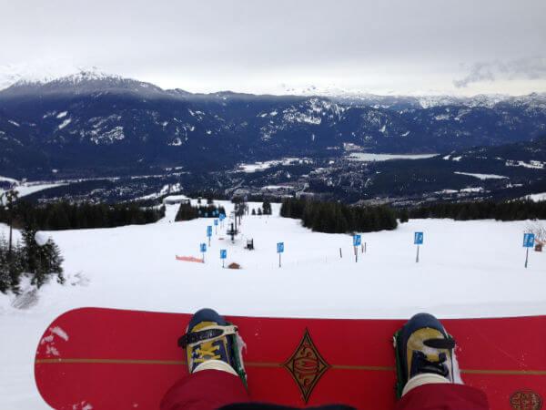 Whistler Snowboarding Four Seasons