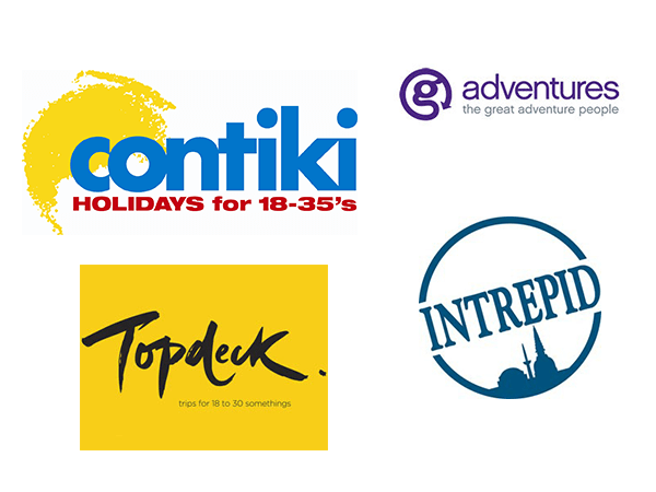 Contiki G Adventures Topdeck Intrepid