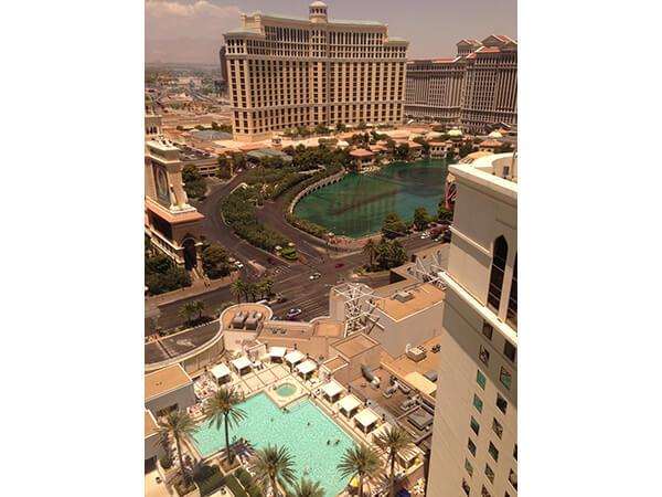 Vegas Bellagio Fountain