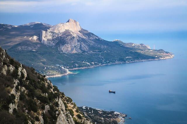 Crimea Ukraine Russia Hiking Travel Bay