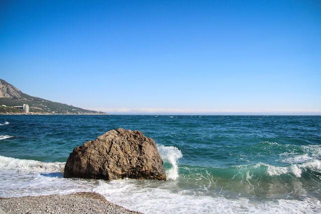 Crimea Ukraine Russia Hiking Travel Beach Laspi 2