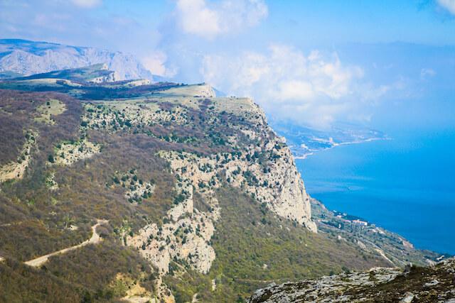 Crimea Ukraine Russia Hiking Travel Cliff
