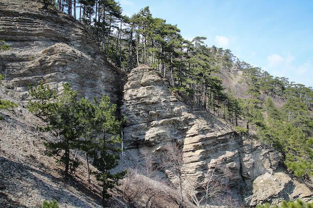 Crimea Ukraine Russia Hiking Travel Cliffs