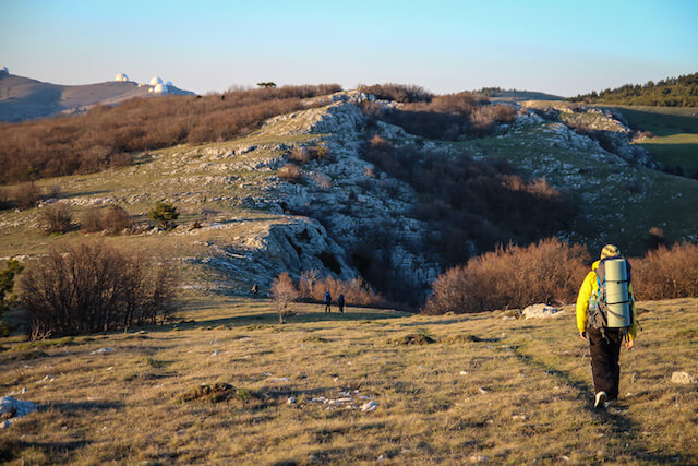 Crimea Ukraine Russia Hiking Travel Evening