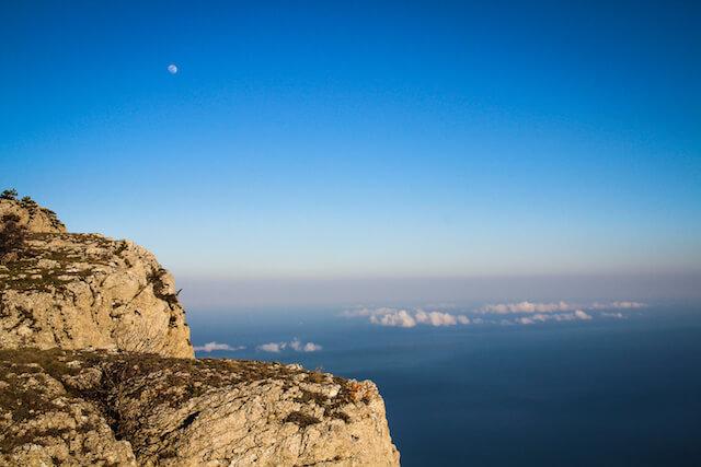 Crimea Ukraine Russia Hiking Travel Moon
