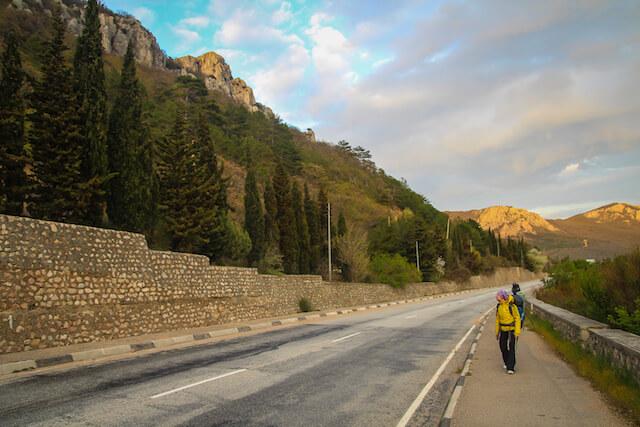 Crimea Ukraine Russia Hiking Travel Road