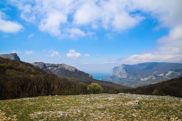 Crimea Ukraine Russia Hiking Travel Scenery