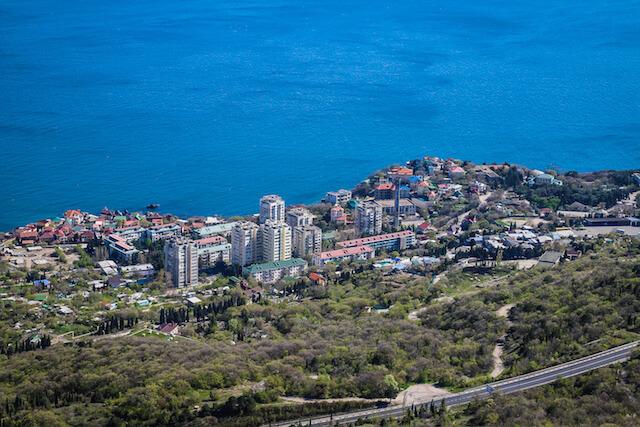 Crimea Ukraine Russia Hiking Travel Town