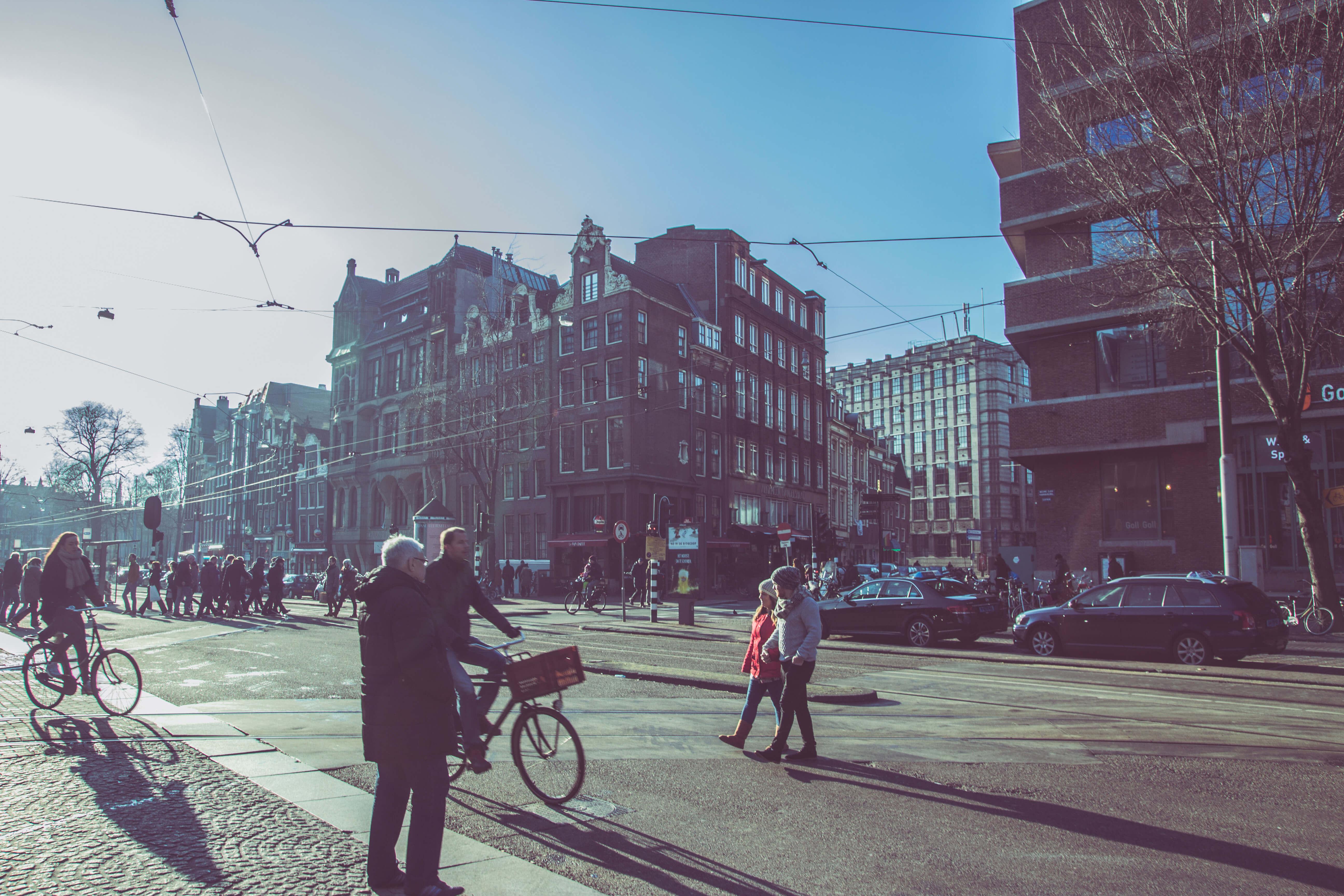 Netherlands Holland Amsterdam Bike Rentals