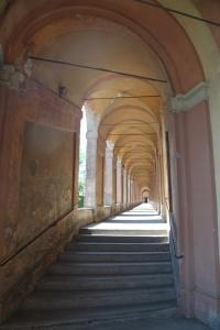 Bologna Italy Porticoes to Basilica San Luca