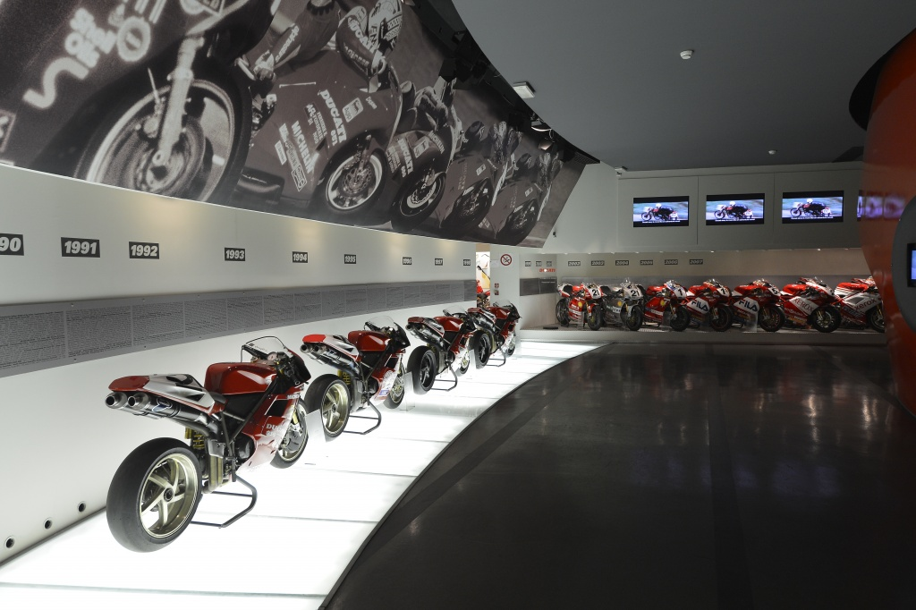 Ducati Museum - Courtesy of Ducati.