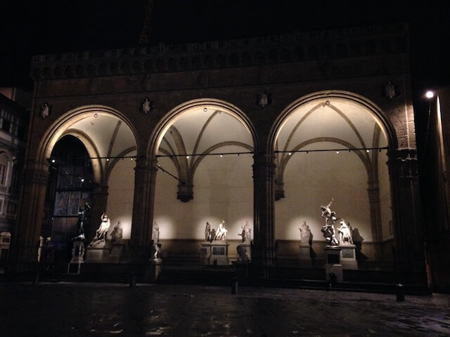 Florence Italy Night Walk
