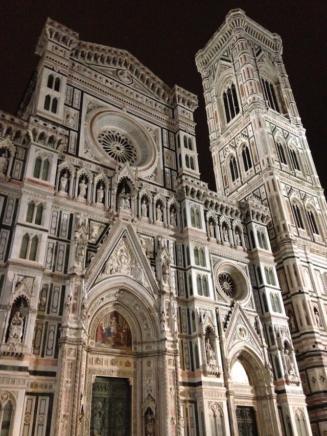 Italy Florence After Dark