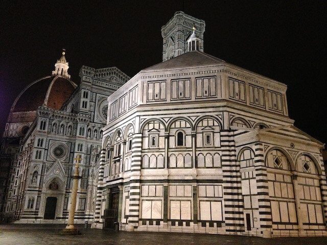 Italy Florence Night stroll