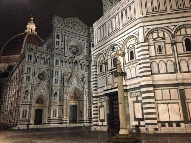 Italy Florence Night time