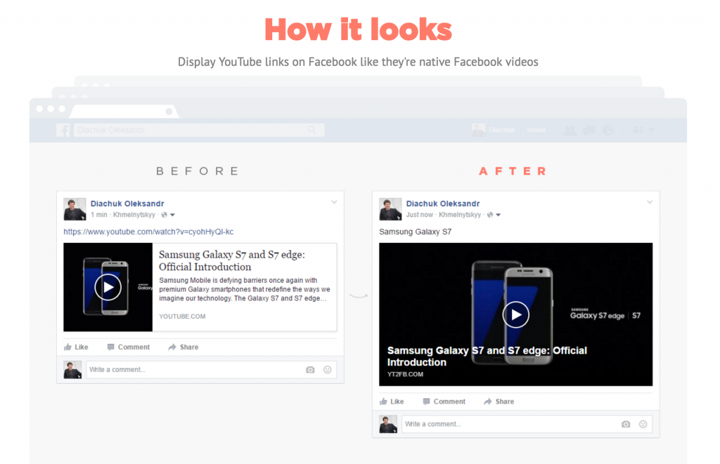 Enlargeify Facebook Larger Video Tool Social Media