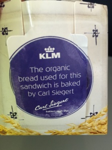 KLM In Flight Quality Meal Organic
