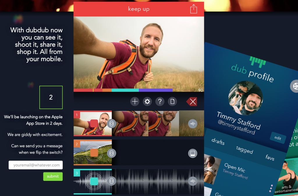 DubDub Video Editing App