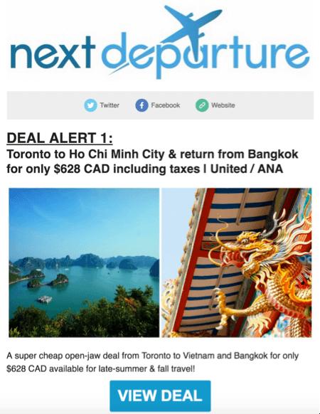 Mistake Airfare Websites