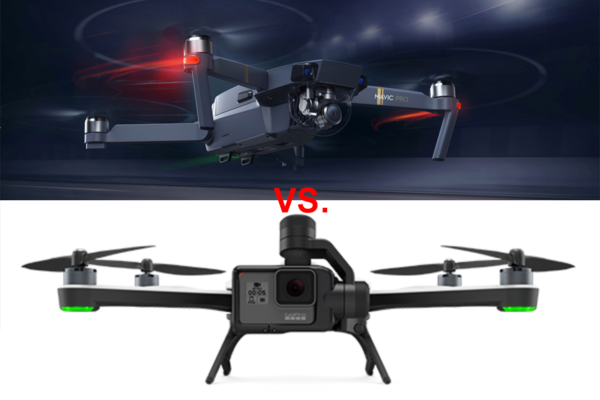 Which is Better for Travellers? DJI Mavic vs. GoPro Karma. DJI wins.